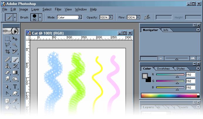 Как в фотошопе сделать рисунок в кривых